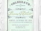 Engagement Party Invitations Etsy Items Similar to Engagement Party Invitations Wedding