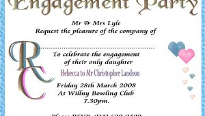 Engagement Party Invitations Templates Engagement Party Invitation Template