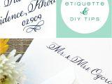 Envelope Etiquette for Wedding Invitations Simply Handwritten Diy Wedding Invitations and Envelope