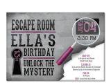 Escape Room Party Invitation Ideas 17 Best Images About Escape Room Party On Pinterest