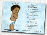Ethnic Baby Shower Invitations Boy Boy Baby Shower Invitation African American Baby Shower
