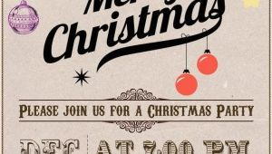 Etsy Christmas Party Invitations Christmas Party Invitation Vintage Listmachinepro Com