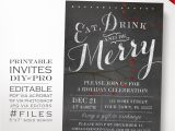 Etsy Christmas Party Invitations Editable Christmas Party Invitation Christmas Invitation