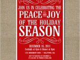 Etsy Christmas Party Invitations Items Similar to Printable Christmas Party Invitation On Etsy