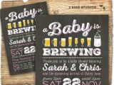 Etsy Coed Baby Shower Invites Coed Baby Shower Invitation Beer Baby Shower by 2birdstudios