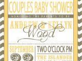 Etsy Coed Baby Shower Invites Couples Baby Shower Invitation by Sldesignteam On Etsy