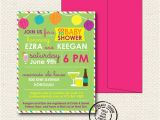 Etsy Coed Baby Shower Invites Items Similar to Coed Baby Shower Invitation 15 Custom