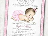 Etsy Girl Baptism Invites Vintage Christening Invitation Christening Invitations for