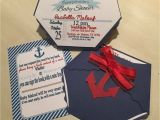 Etsy Nautical Baby Shower Invitations Nautical Diaper Baby Shower Invitation by