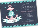 Etsy Nautical Baby Shower Invitations Template Nautical Baby Shower Invitations Etsy Nautical