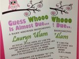 Etsy Owl Baby Shower Invitations Items Similar to Owl Baby Shower Invitations On Etsy