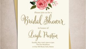 Etsy Printable Bridal Shower Invitations Best Bridal Shower Invitation Etsy Ideas