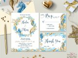 Etsy Wedding Invitation Templates Beach Wedding Invitation Templates Seaside Invitation
