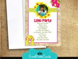Event Photo Cards Party Invitations Sweet 16 Luau Party Invitations Party Invites