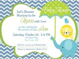 Evite Baby Shower Invitations Elephant Baby Shower Invitation Boy by asyouwishcreations4u