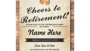 Evite Retirement Party Invitations Retirement Party Cheers Beers Wood Pub Invitation
