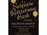 Evite Retirement Party Invitations Surprise Retirement Party Invitation Gold Balloons