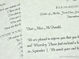 Example Letter to Accept A Birthday Party Invitation Harry Potter Birthday Invitations and Authentic Acceptance