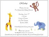 Example Of Baby Shower Invitation Card Sample Baby Shower Invitations