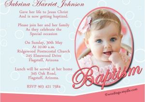 Example Of Baptismal Invitation Baptism Invitation Wording Samples Wordings and Messages