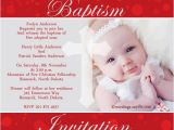 Example Of Baptismal Invitation Card Baptism Invitation Examples