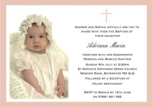 Example Of Baptismal Invitation Christening Invitation Cards Christening Invitation