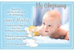 Example Of Baptismal Invitation Free Christening Invitation Template