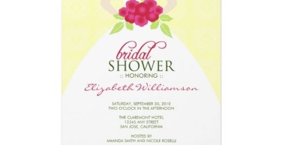 Example Of Bridal Shower Invitation Bridal Shower Invitations Bridal Shower Invitations Samples