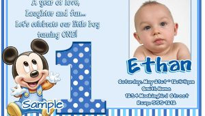 Example Of Invitation Card for 1st Birthday Awesome Best First Birthday Invitation Wording Designs