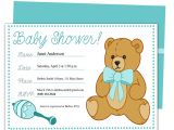Examples Of Baby Shower Invites Sample Baby Shower Invitations