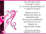 Examples Of Bachelorette Party Invitation Wording Bachelorette Party Invitations Party Ideas