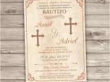 Examples Of Baptism Invitations In Spanish Baptism Invitations In Spanish Template Templates