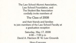Examples Of College Graduation Invitations Example Of College Graduation Invitation