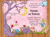 Fairy Tea Party Invitations Fairy Tea Invitation Tea Party Printable Editable