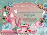 Fairy Tea Party Invitations Fairy Tea Party Invitation Birthday Tea Party Tea Party