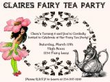 Fairy Tea Party Invitations Tea Party Games for A Fun and Fabulous Par Tea