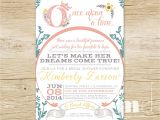 Fairytale Bridal Shower Invitations Ce Upon A Time Bridal Shower Invitations Fairytale Bridal