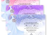 Fairytale Bridal Shower Invitations Fairytale Bridal Shower Bouquet Sparkly Sparkle Wedding