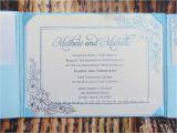 Fake Wedding Invitations Silk Wedding Invitation Folio Buy Silk Wedding