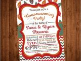 Fall Housewarming Party Invitations Fall Leaves Printable Housewarming Party Invite