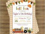 Fall Party Invites Fall Birthday Invitation Fall Birthday Party Fall Party