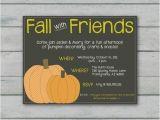 Fall Party Invites Fall Party Invitation