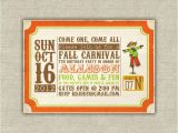 Fall Party Invites Printable Digital File Harvest Party Invitations