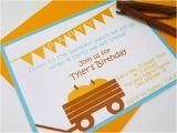 Fall themed Birthday Party Invitations Autumn themed Birthday Invitations by Delightfullynoted On