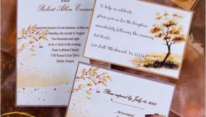 Fall themed Wedding Invitations Cheap top 5 Autumn Fall Wedding Invitation Ideas