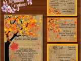 Fall Wedding Invitations and Rsvp Cards Fall Wedding Invitations Rsvp 39 S Reception Cards