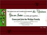 Family Holiday Party Invitation Wording Christmas Invitation Template and Wording Ideas