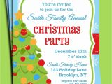 Family Holiday Party Invitation Wording Family Christmas Invitations Rhymes