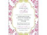 Fancy Bridal Shower Invitations Fancy Coral Lime Dot Bridal Shower Invitations
