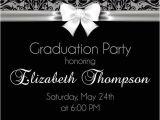 Fancy Graduation Invitations Elegant Graduation Party Invitation High School or College